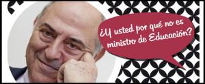 JOSE-ANTONIO-MARINA,-MINISTRO-DE-EDUCACION-blog-redactel-javier-garcia-egocheaga