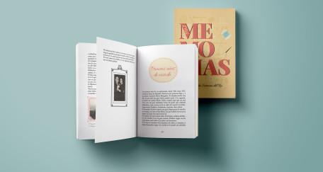 """Diseño editorial """"Mis Memorias"""""""