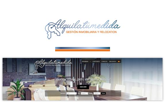 Logotipo en la web de la empresa